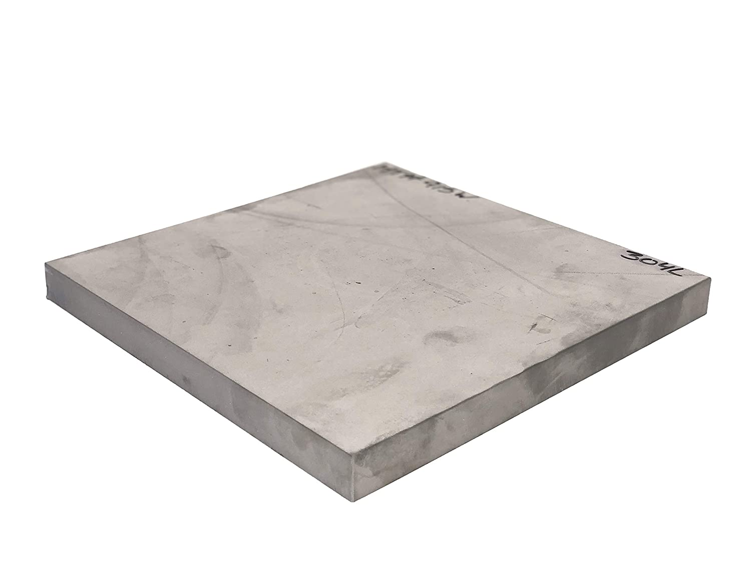 .500 inch 304 Stainless Steel 12 X 12 Plate Mill Finish