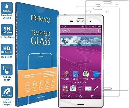 PREMYO cristal templado Xperia Z3. Protector cristal templado Z3 ...