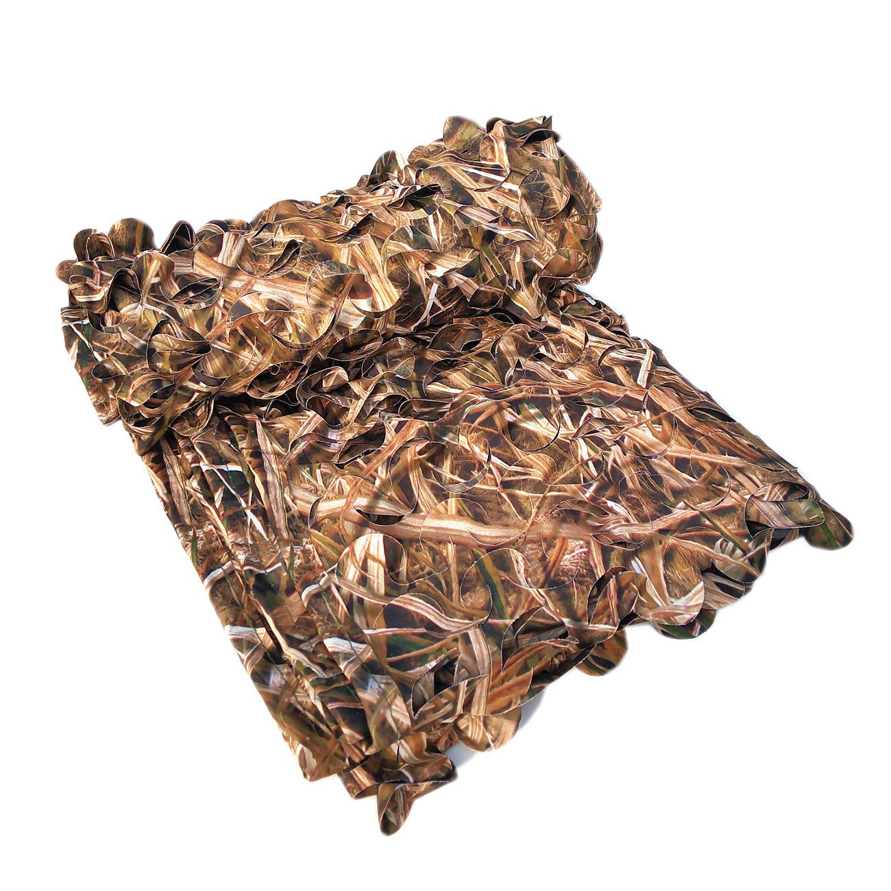 XAMAWA Camouflage Netting, 300D Durable Camo Net Blinds Great for Camping Shooting Hunting(5ftx10ft/1.5mx3m)
