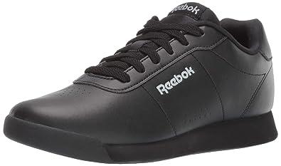 Reebok Women s Royal Charm Walking Shoe Black Baseball Grey 5 ... d7346db07