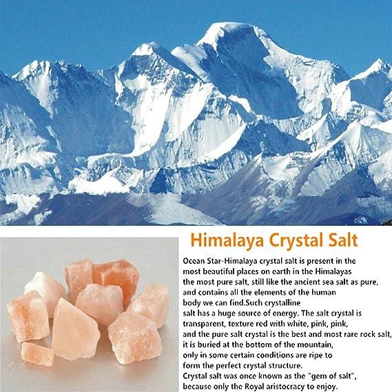 Del Himalaya sal Natural fuego con palisandro indio tallado Plus, bombilla y de control, de tamaño mediano, 2.42 - 2.49 kg, 8 - 14 cm Altura: Amazon.es: ...