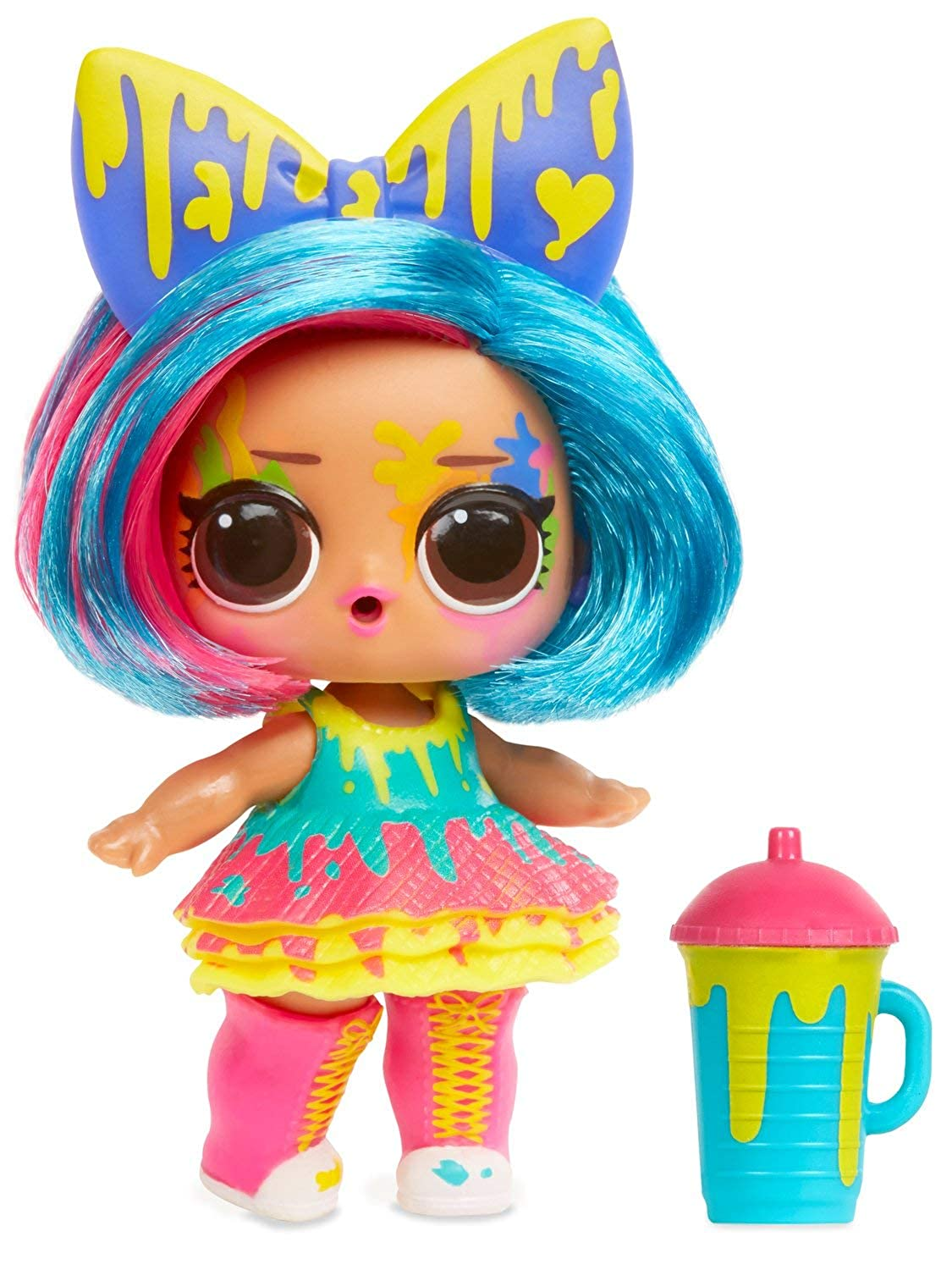 M/&Co LOL Surprise Hairgoals Makeover Series Brushable Hair Doll Collectable Toy