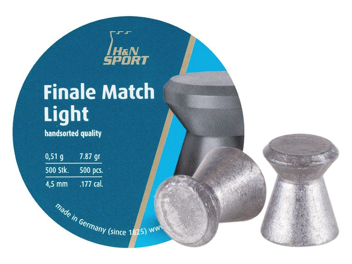 H& N Sports Finale Match Light - Balines, Color Gris