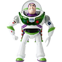 Disney Pixar Toy Story 4 Blast-Off Buzz Lightyear Figure, 7-in Tall, with Lights, Phrases, Sounds and Pop-Out Wings…