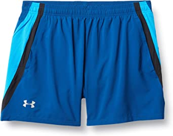 Under Armour Mens Launch SW 5 Inch Shorts Pants Trousers Bottoms Blue Sports