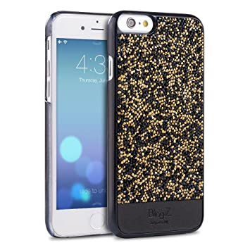 online store 5d7d5 d846f iPhone 6 Case, iPhone 6S Case, TheBlingZ.® 3D Swarovski Elements Sparkle  Diamond Crystal Bling Bling Case Cover for iPhone 6 6S - Black