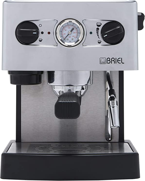 Briel ES 62 Cadiz Cafetera espresso, 1260 W, 1 Cups, Gris: Amazon ...