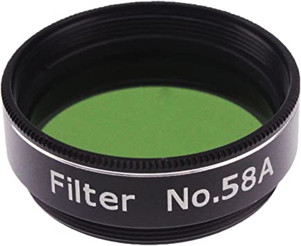 #58A Dark Green Astromania 1.25 Color//Planetary Filter