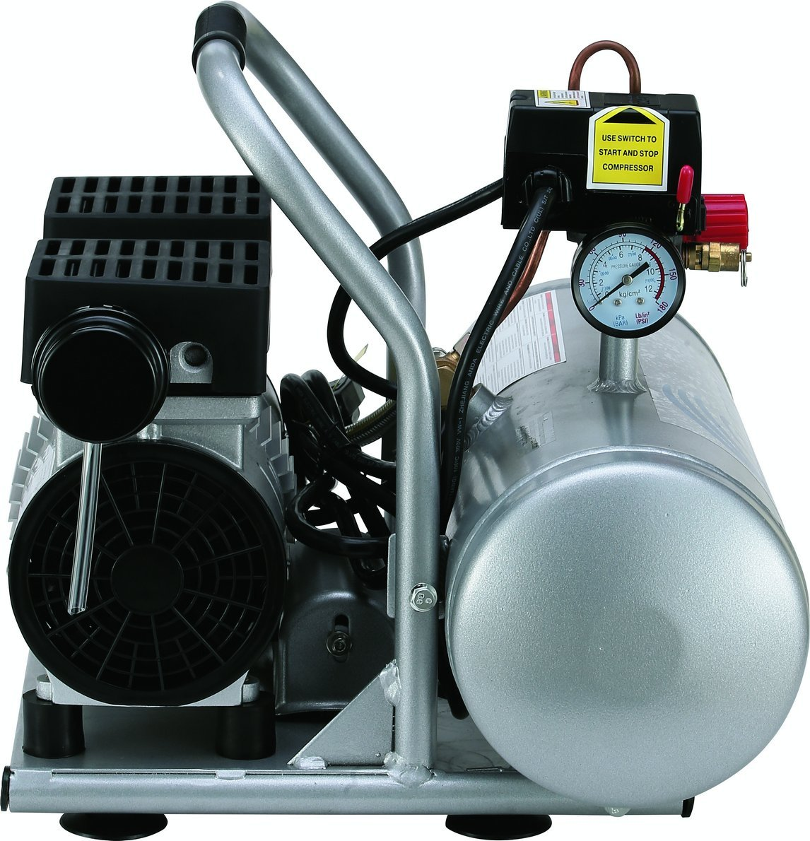 Quiet electric compressor, like an aerosol? - Page 2