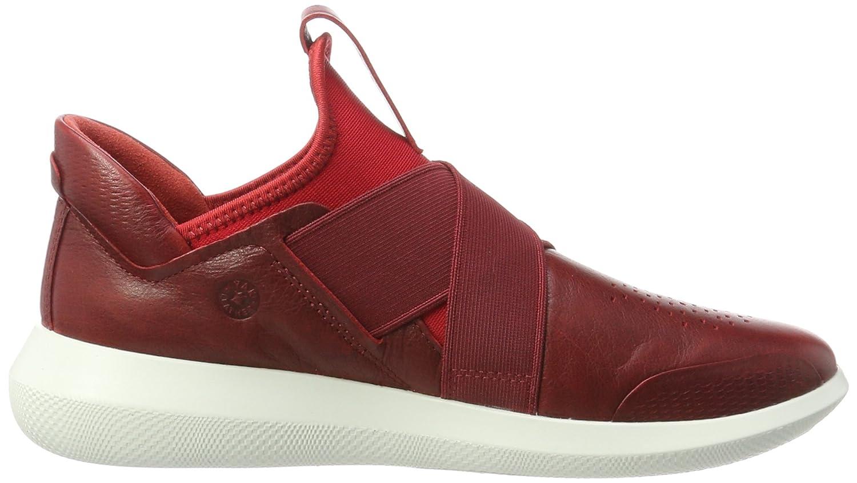 Ecco Damen Scinapse Slip Sneaker on Sneaker Slip Rot (Chili ROT/Chili ROT) 9f2f43