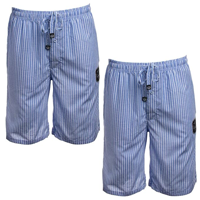 eee46319944 Ecko Unltd. (2 Pack Cool Cotton Pajama Shorts for Men Sleep Shorts  Loungewear Sleepwear