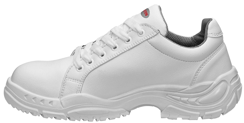 ELTEN Sicherheitsschuhe Weiß Weiß Weiß Loop Low  ESD S2, Herren, leicht, weiß, Stahlkappe  4d1e2e