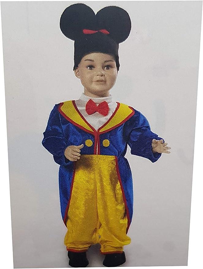 CARNEVALE Carnavale - Disfraz de Mickey Mouse para bebé de 7/9 ...