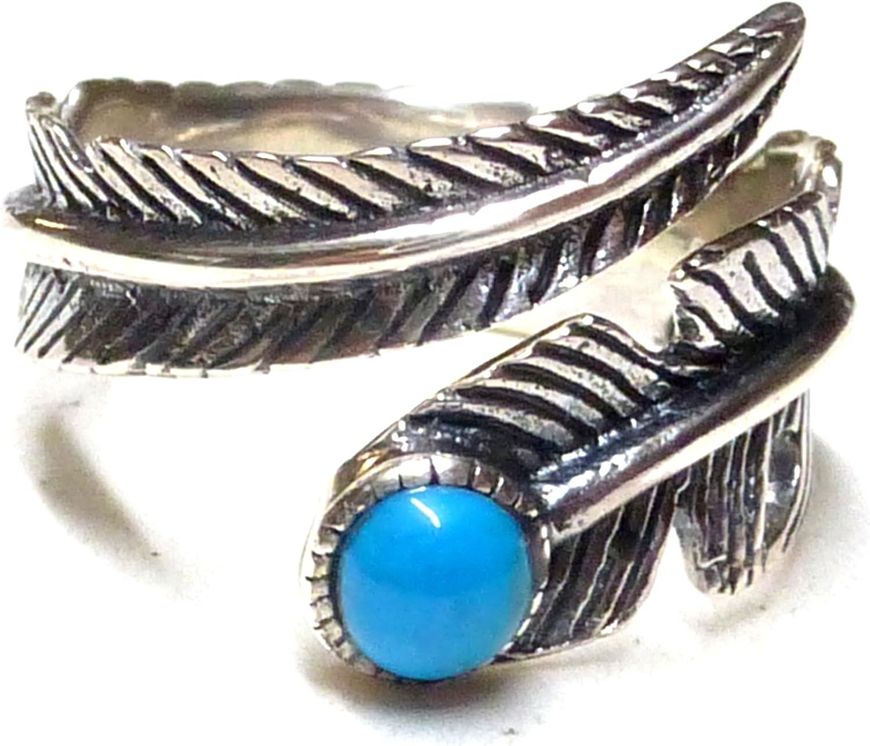 Banda Anillo abierto diseño Alma Muelle indios joyas con turquesa de plata de ley delicado gearbeitet