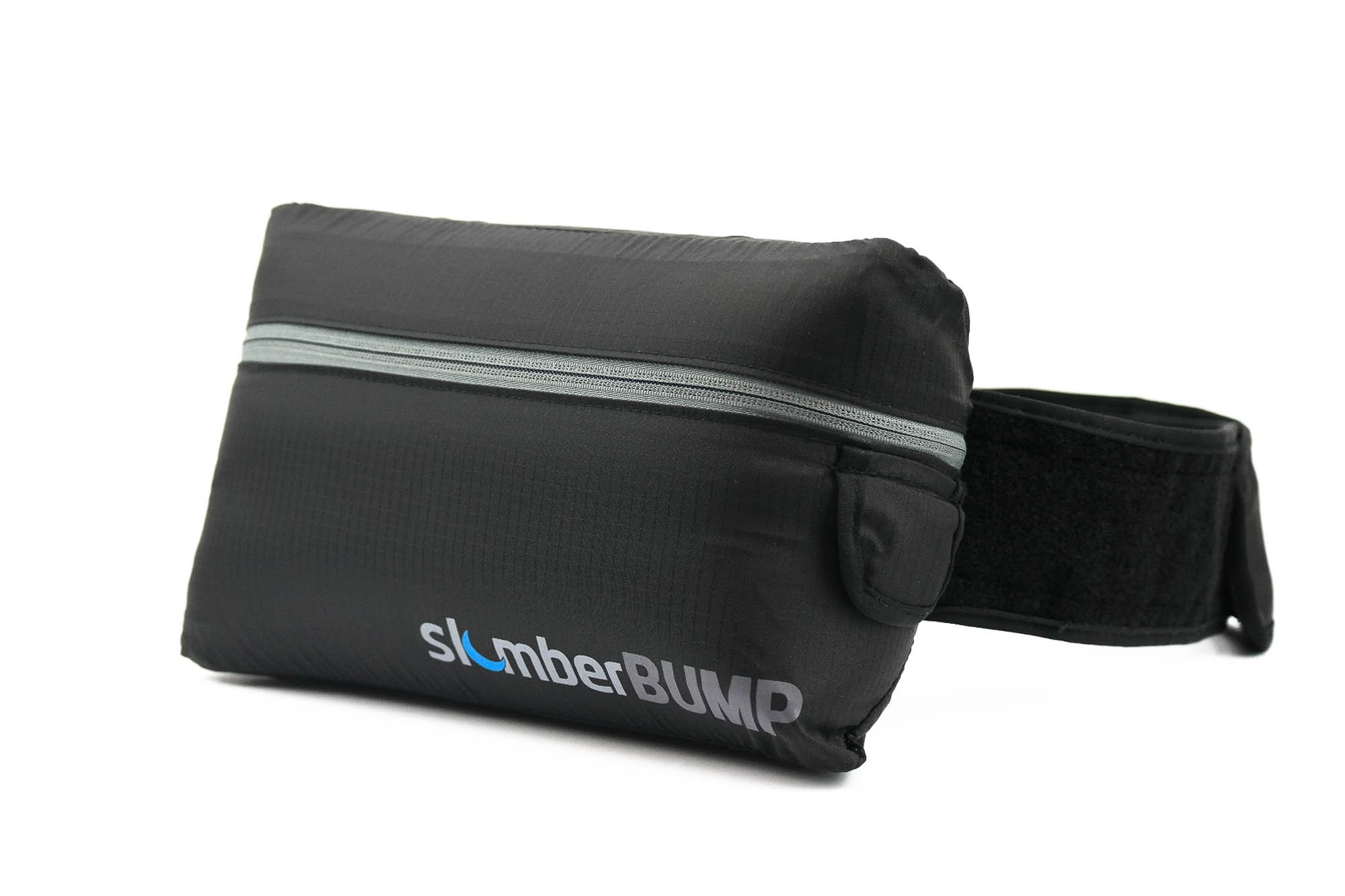 slumberBUMP Positional Sleep Belt for Snoring and Sleep-Disordered Breathing, Black/Gray (One Size Fits All)