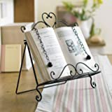 Iron Recipe Cookbook Stand For Home Baking H31 x W29cm