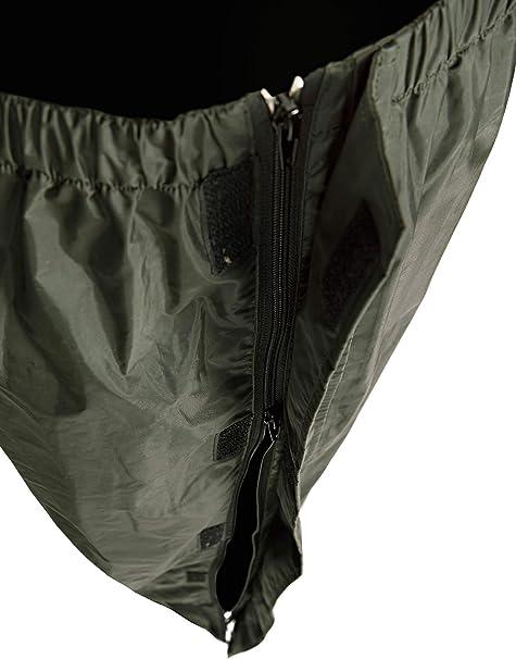 Baleno Oslo Color Negro Pantalones Impermeables con Cremallera Completa