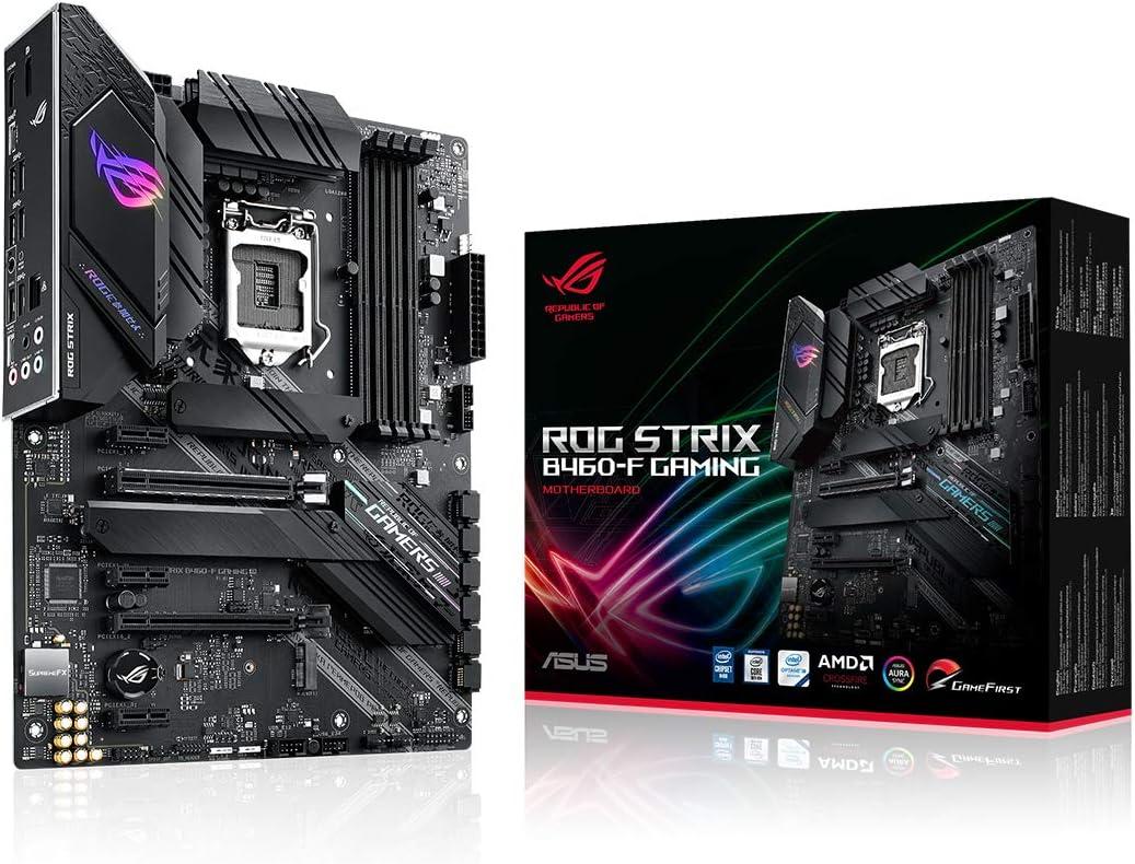 Asus Rog Strix B460 F Gaming Mainboard Sockel 1200 Computer Zubehör