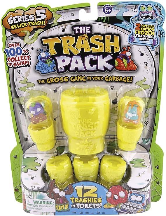 Trash Pack 68154 - Blister S4 de 12 (surtido: modelos aleatorios - sorpresa): Amazon.es: Juguetes y juegos