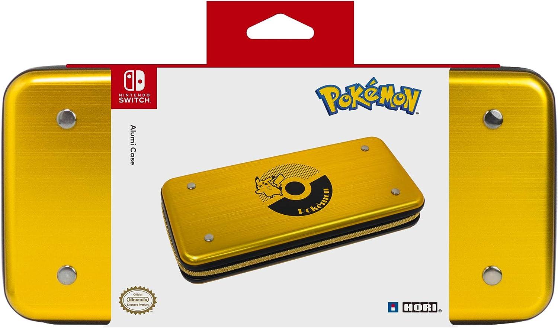 Amazon.com: HORI AlumiCase Metal Vault Case for Nintendo ...
