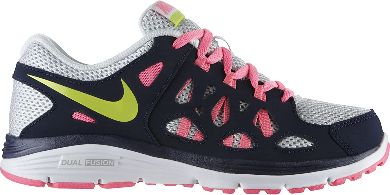 Nike Dual Fusion Run 2 (GS) - Zapatillas de Running para niña: Amazon.es: Zapatos y complementos