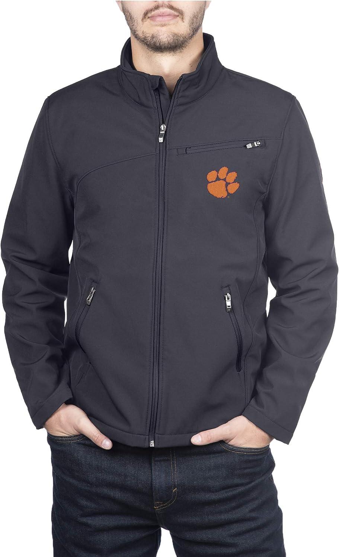 Spyder NCAA mens Transport Full Zip Soft Shell Gameday Jacket