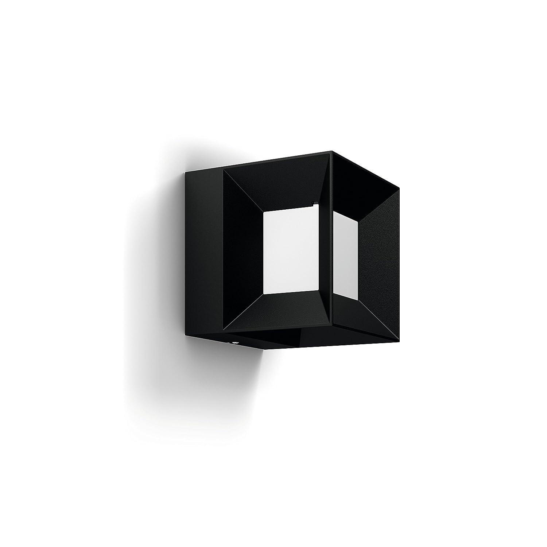 Philips myGarden LED Wegeleuchte Parterre Gartenleuchte Au/ßenleuchte Schwarz