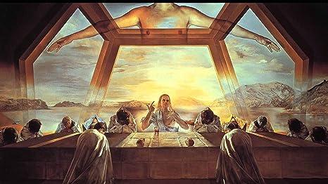 Amazon.com: El Sacramento de la Última Cena, c.1955 – Póster por Salvador  Dalí (32 x 24): Home & Kitchen