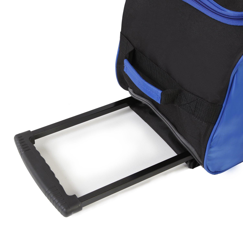 Fila 26'' Lightweight Rolling Duffel Bag, Blue, One Size by Fila (Image #8)
