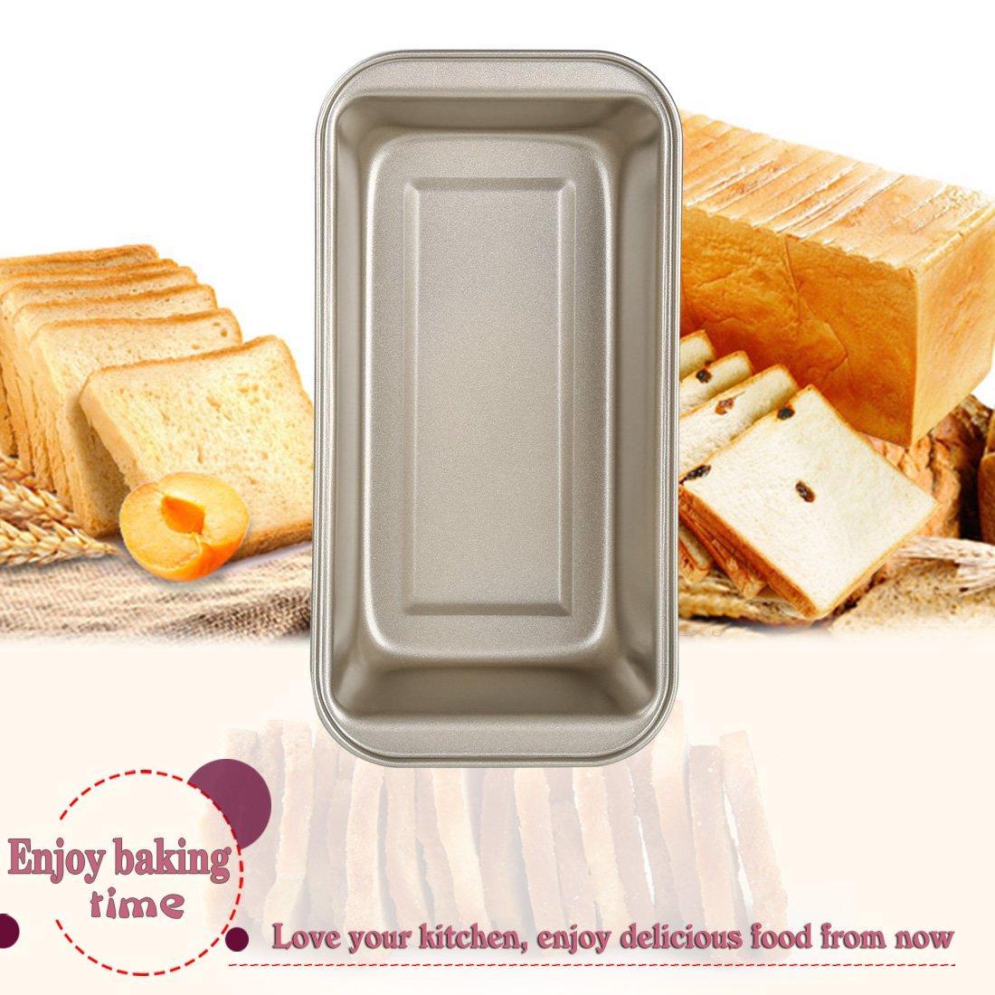 Bojin molde rectangular con Toast Panificadora ortogone antiadherente de acero al carbono: Amazon.es: Hogar
