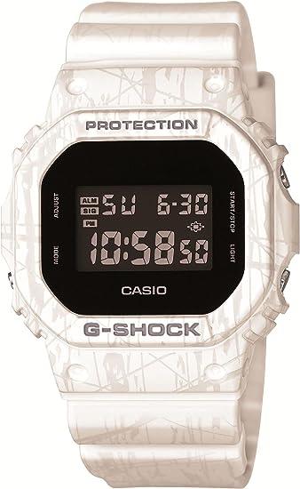 [カシオ] 腕時計 ジーショック Slash Pattern Series DW-5600SL-7JF ホワイト