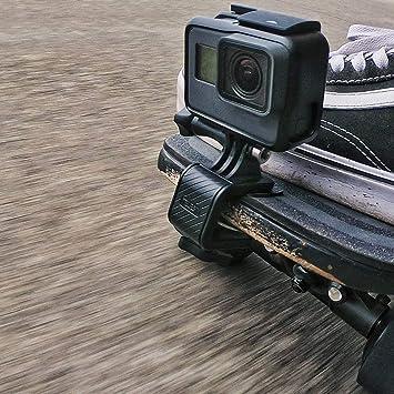 Adjustable Action Camera Desk Surfboard Mount holder 8-15mm For Gopro Hero 6 5 4