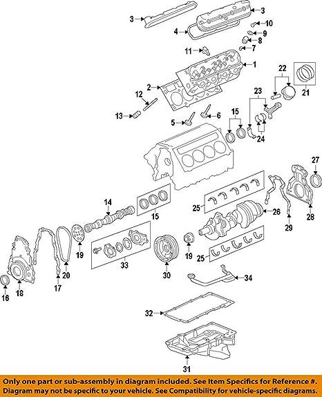 GM OEM-Valve Seal 12482062
