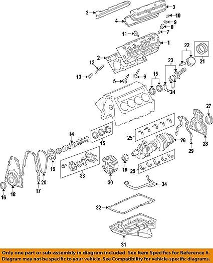 amazon com general motors 89017573 engine connecting rod bearing rh amazon com Bearings Maths Worksheet Bearings and Housing Diagram