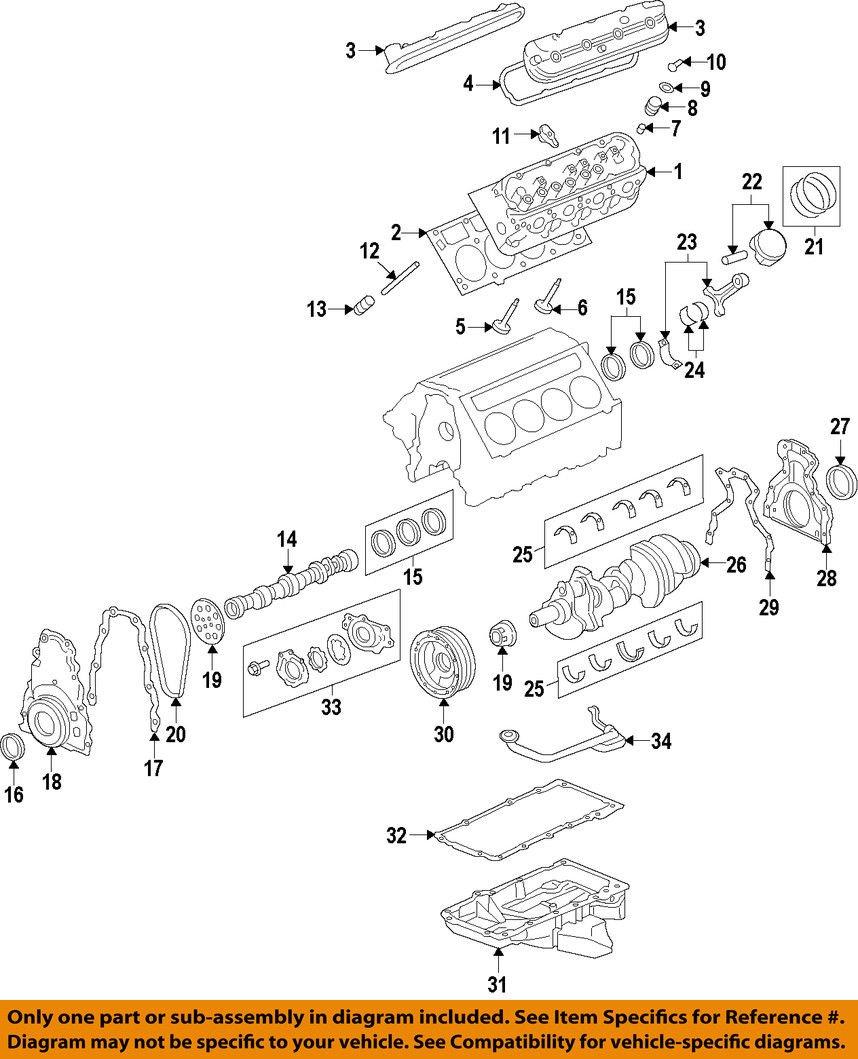GM OEM-Engine Crankshaft Main Bearing 89017572 by General Motors (Image #1)