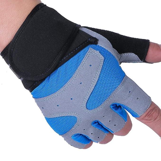 DEI QI La Sra. Half Finger Gloves Fitness Equipment Yoga ...