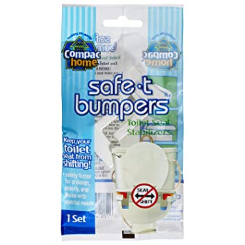 Super Compacs Toilet Seat Stabilizers Safe T Bumpers Lock Seat Safely In Place Keeps Children Elderly Disabled Safe From Slipping Off Shaking Moving Forskolin Free Trial Chair Design Images Forskolin Free Trialorg