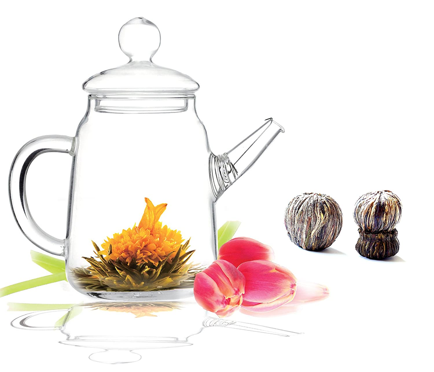 Tea Beyond Blooming Teapot Gift Set Image