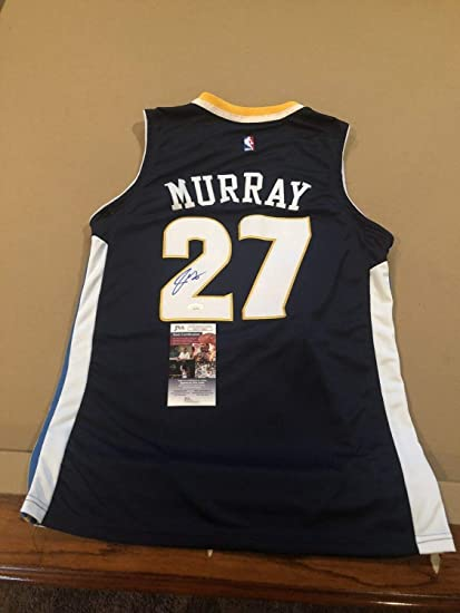 best cheap 8d205 05262 Jamal Murray Autographed Signed Memorabilia Custom Denver ...