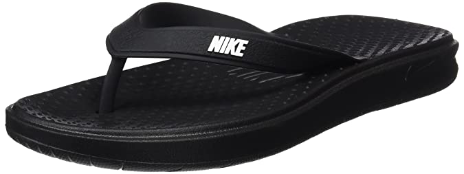 Nike Men's SOLAY Flip Flops Thong Sandals Men's Fashion Sandals at amazon