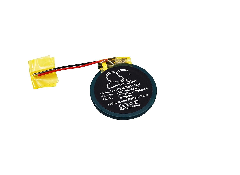 Cameron Sino 200mAh / 0.72Wh Replacement Battery for Garmin Forerunner 110 CS-GRS110SH_0003