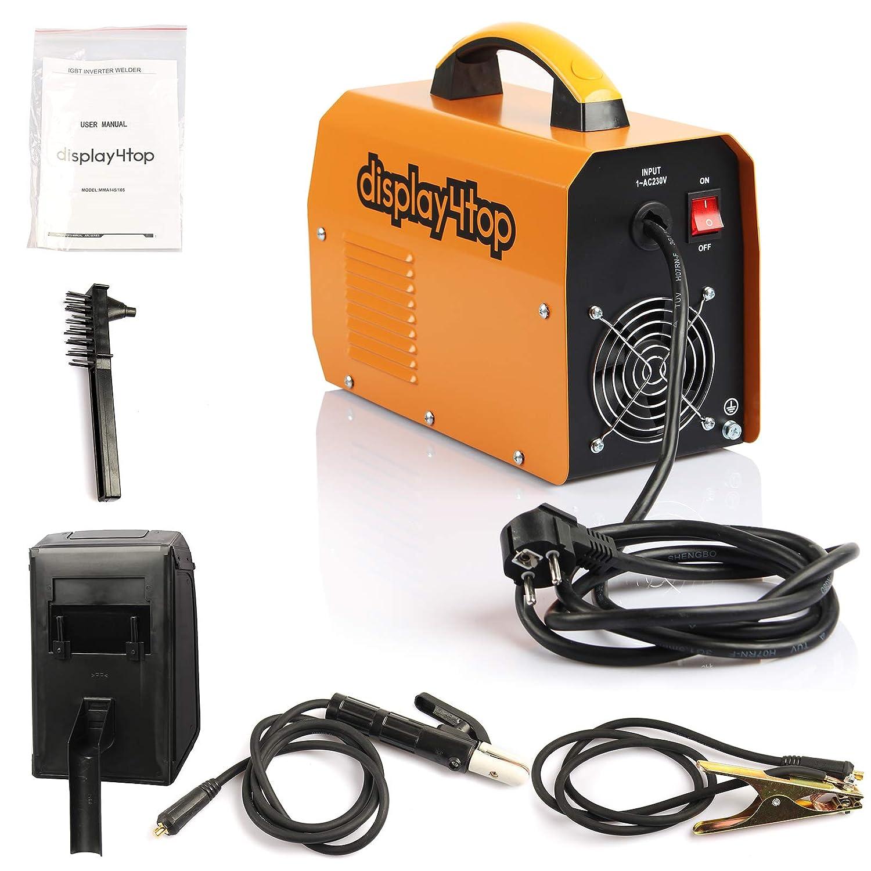 Machine de soudage portable MMA-145 Norme Europ/éenne Soudeuse /à onduleur Display4top 200 A