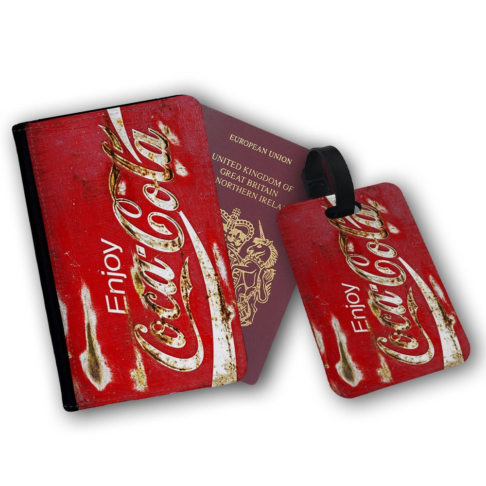 Coca Cola Old Retro Rust Vintage Beverage Travel Bag Luggage Tags
