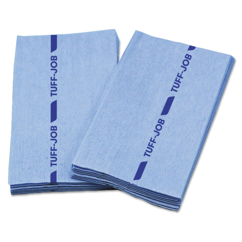 Cascades Busboyガード抗菌Foodserviceタオル、ブルー、12 x 24、1 / 4 Fold、150 / ctn B075NN17WN