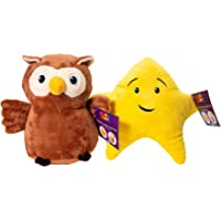 Twinkle Twinkle Owl & Star Official Plush Characters (2pc set)