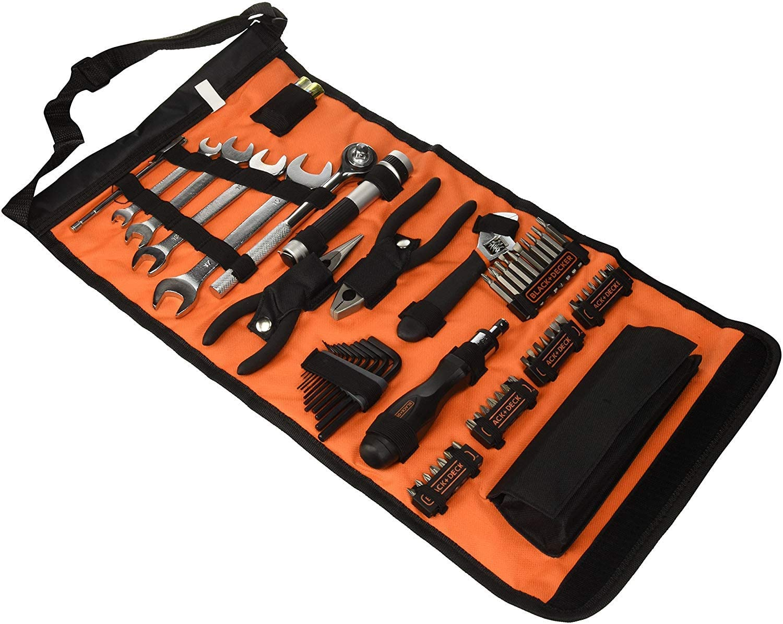 BLACK+DECKER A7144 - Kit de herramientas para automóviles
