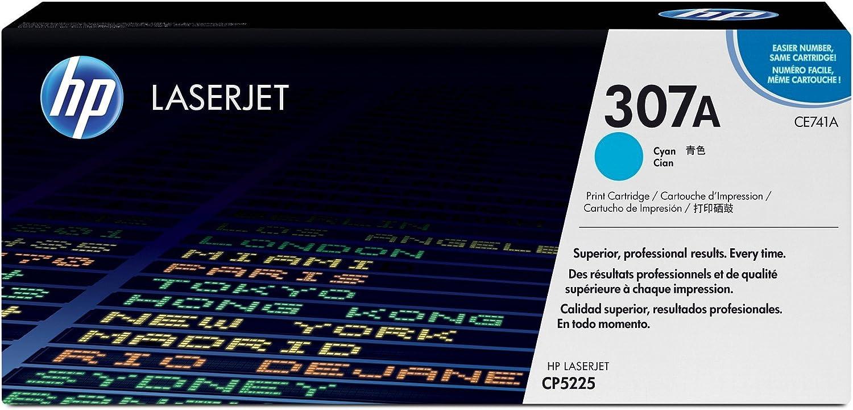 HP 307A | CE741A | Toner Cartridge | Cyan