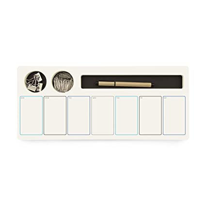 Three By Three Seattle JOTBLOCK Weekly Planner Wide Black (70042)