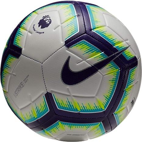 e87ecafef5cf0 NIKE 2018-2019 EPL Strike Soccer Ball White/Blue/Purple