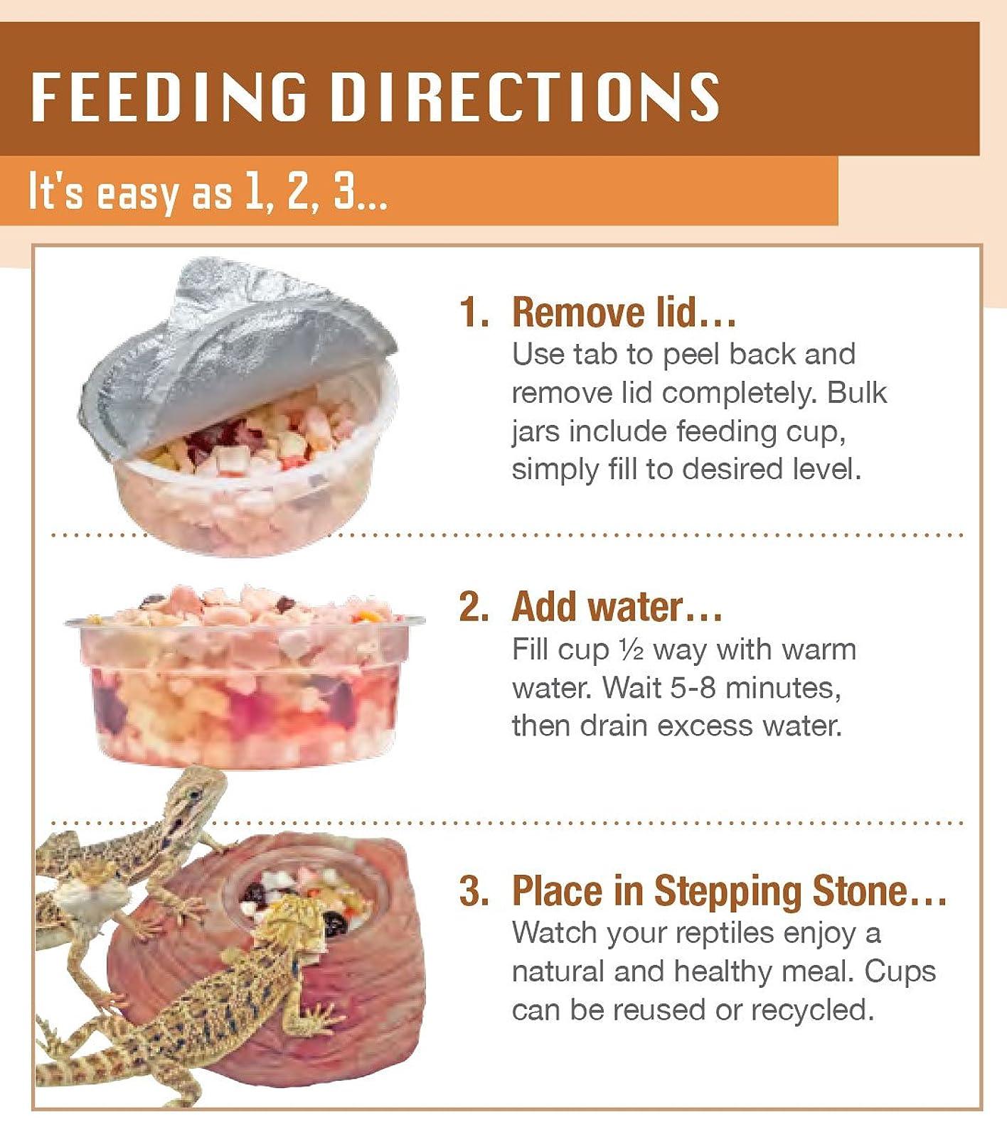 Healthy Herp Tortoise Food Instant Meal Bulk - 3